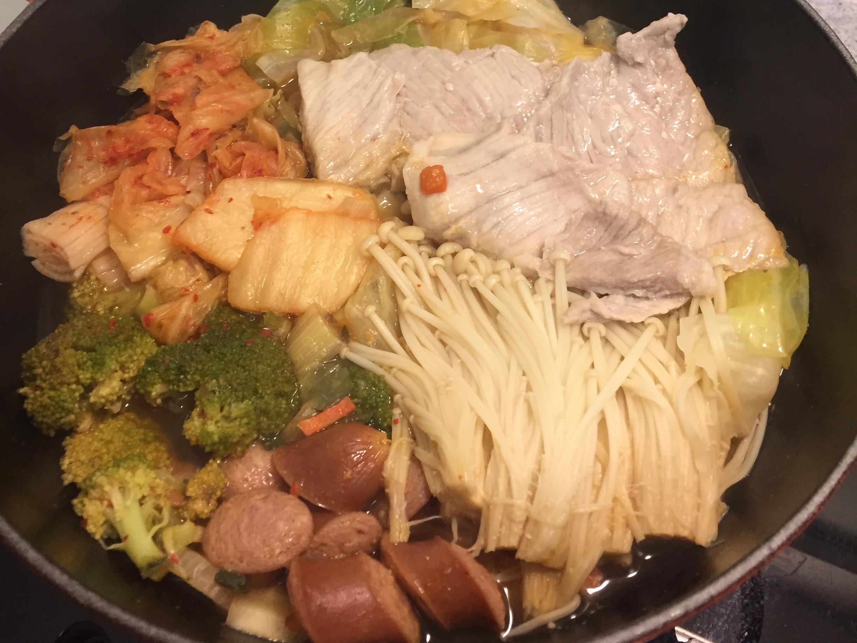 一鍋料理-韓式部隊鍋