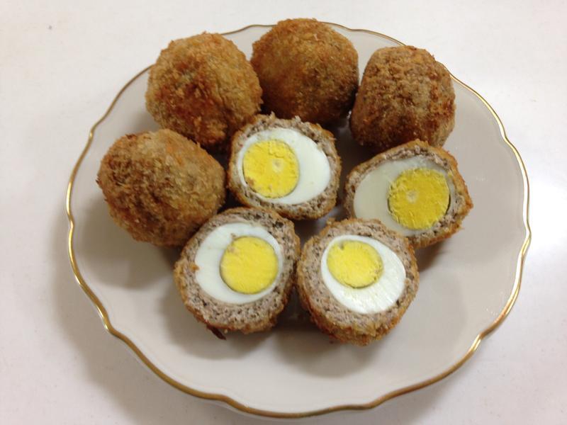 蘇格蘭蛋(scotch eggs)
