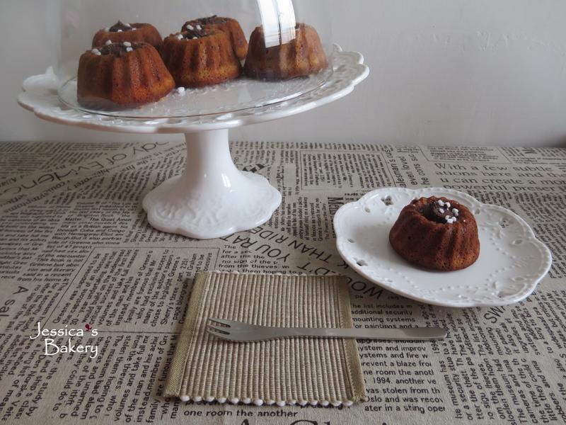 巧克力費南雪蛋糕