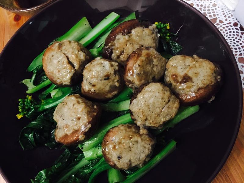 鯪魚肉釀花菇