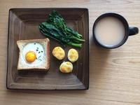 每日早餐🍳太陽蛋土司