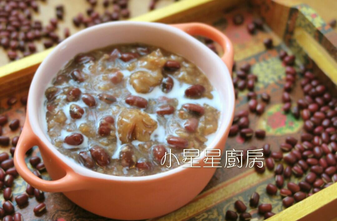 免顧爐,用電鍋輕鬆做紅豆桂圓糯米粥