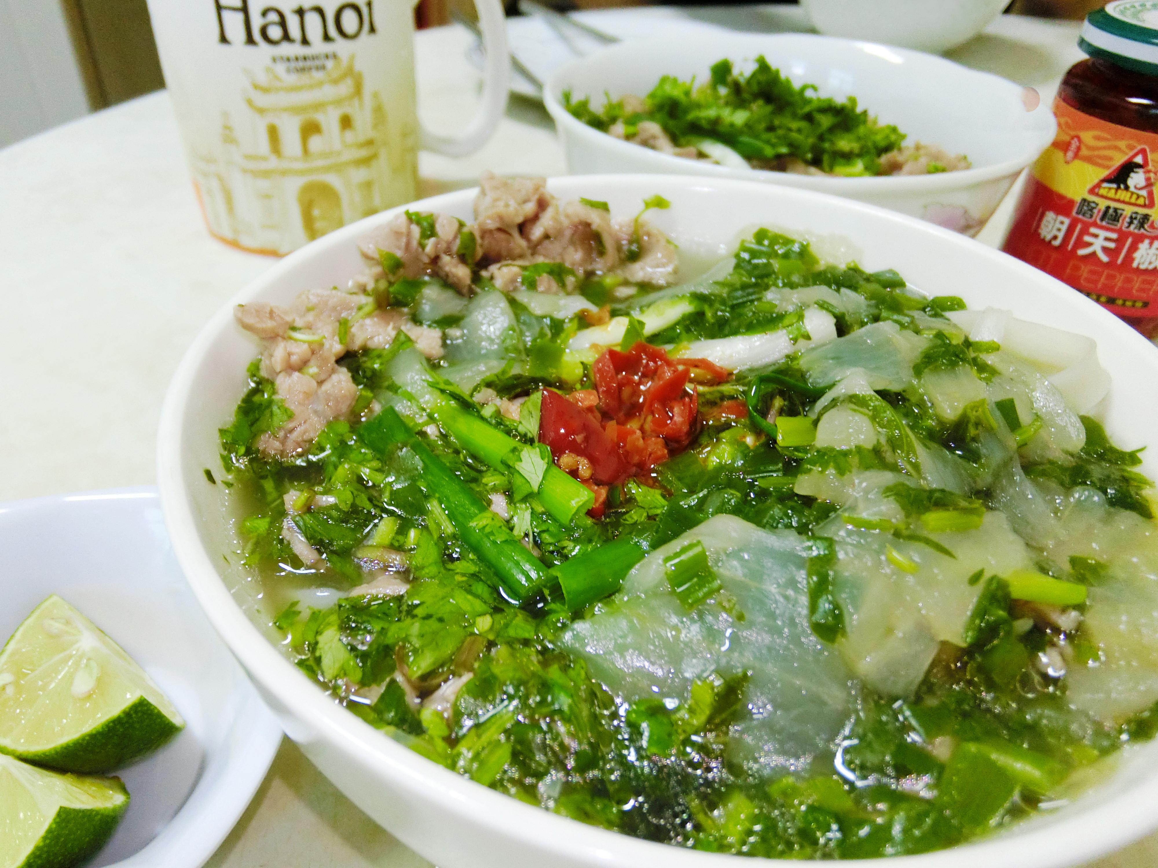 第一次做越南牛肉河粉就上手 Winnie