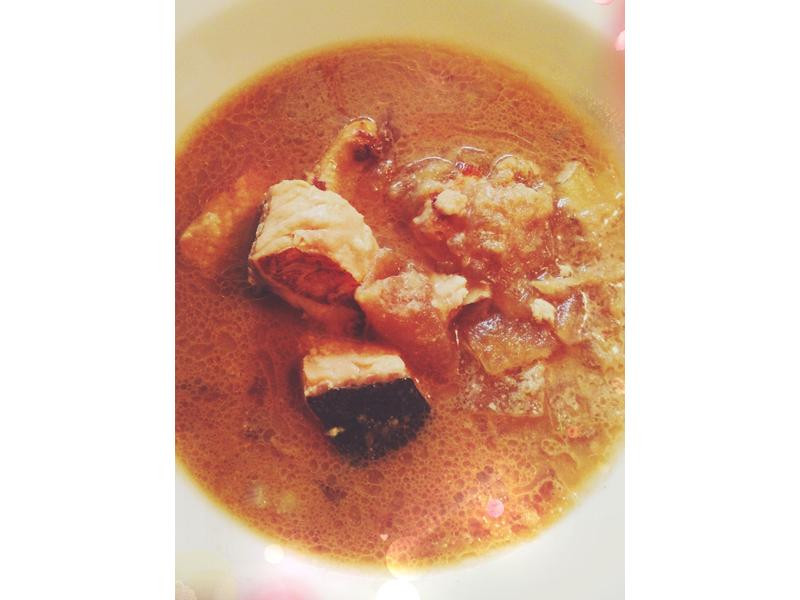 味噌鮭魚冬瓜滷