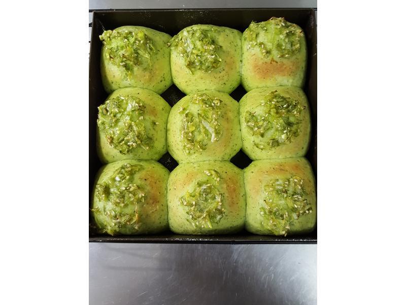 小綠鹹餐包【1y+點心】