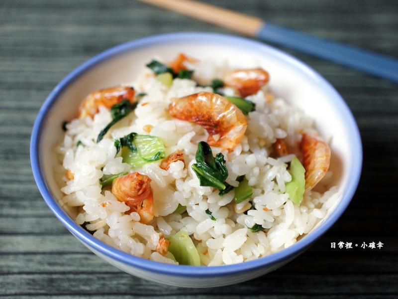 中蝦(櫻花蝦)菜飯