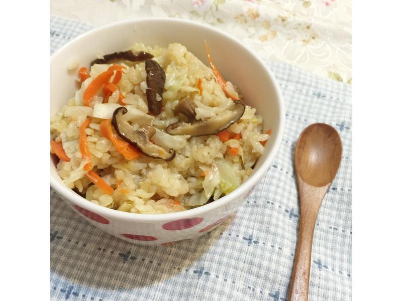 電鍋香菇高麗菜飯『歡慶大同電鍋55週年』