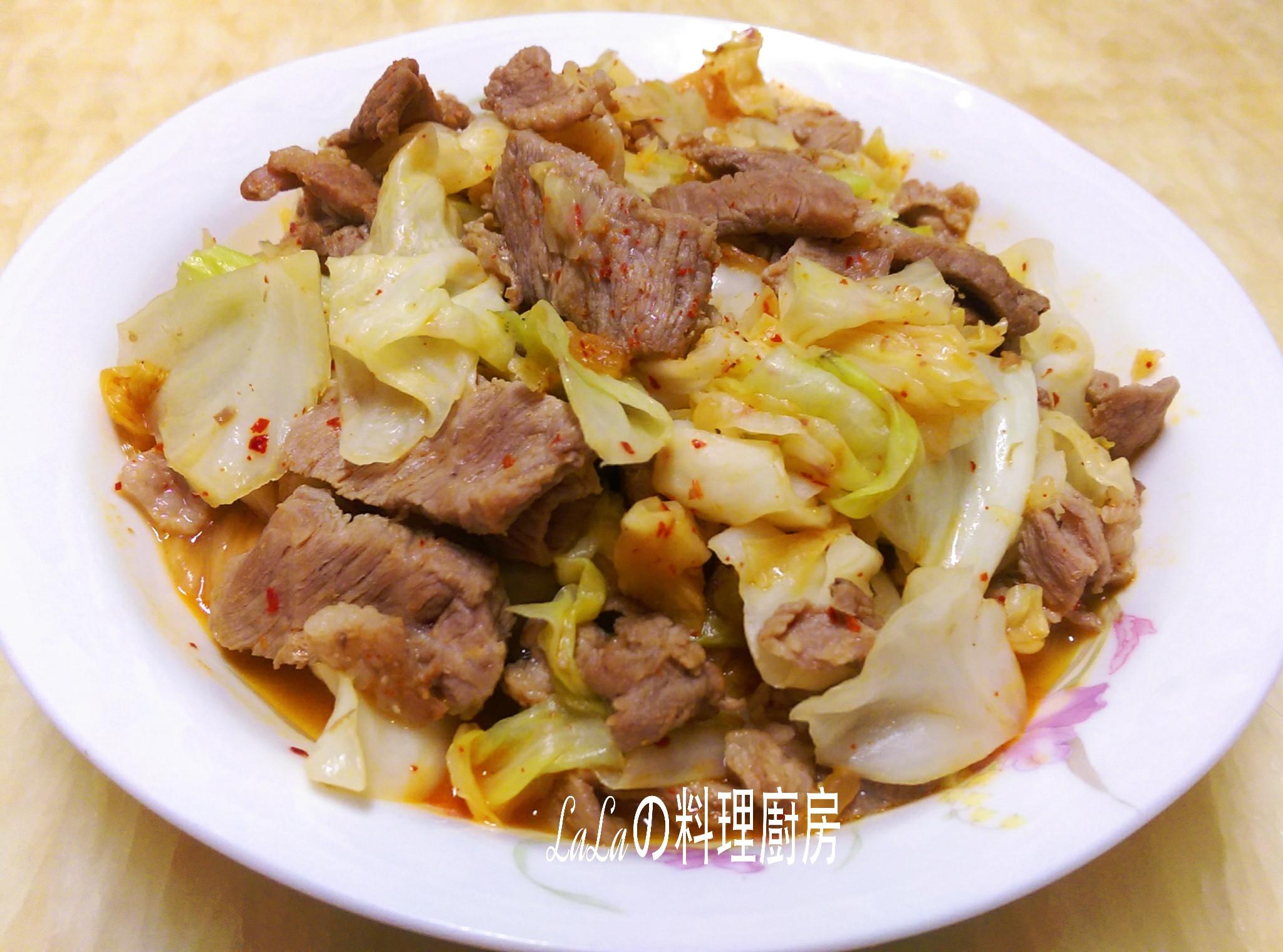 韓式泡菜炒肉