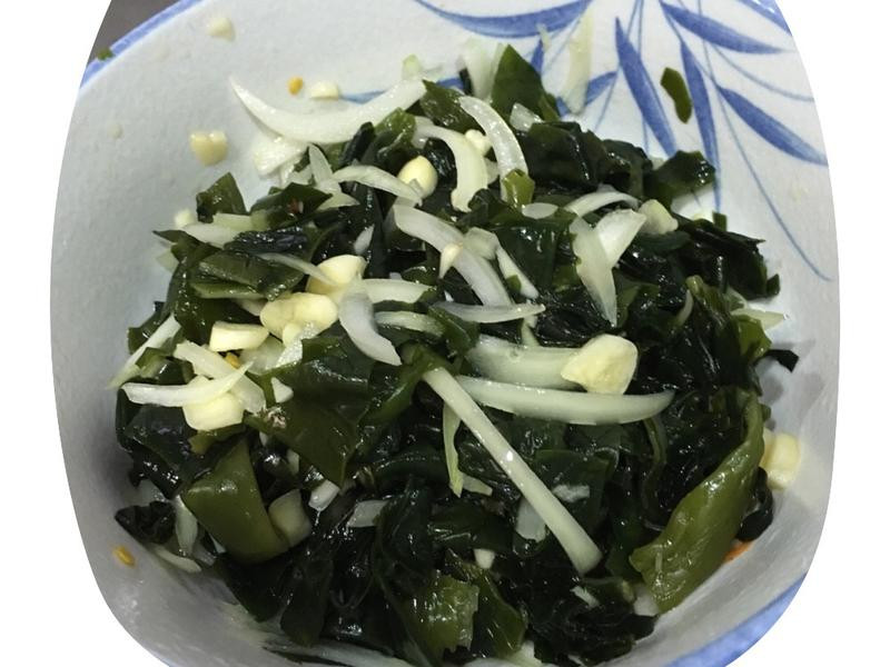 韓式涼拌海帶絲