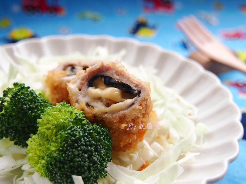 爆漿起司豬肉捲-家樂福廚神大賽2015
