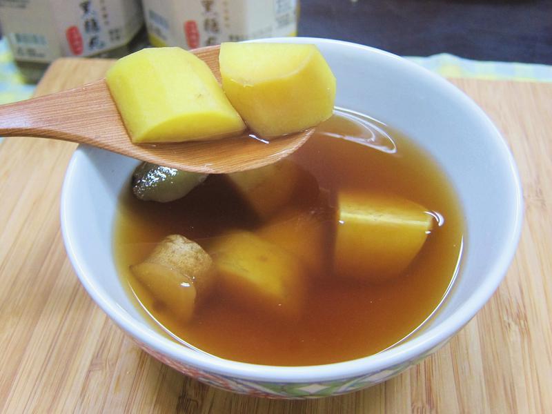 [廚男料理筆記] 黑糖薑汁地瓜湯