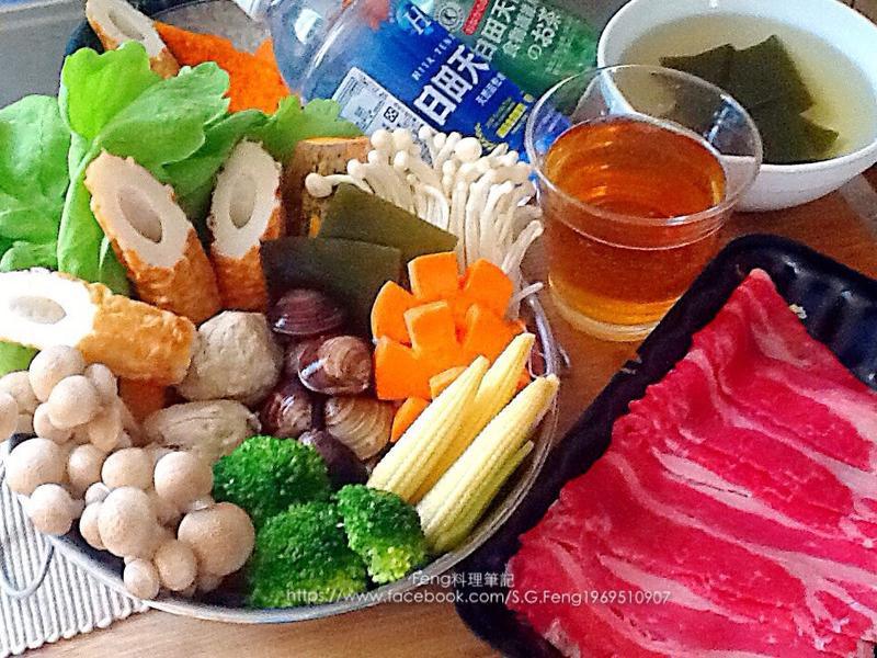 日式昆布牛肉涮涮鍋