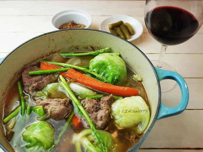 法式牛肉燉菜湯~家樂福廚神大賽2015