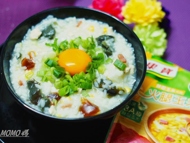【簡單美味】皮蛋瘦肉粥