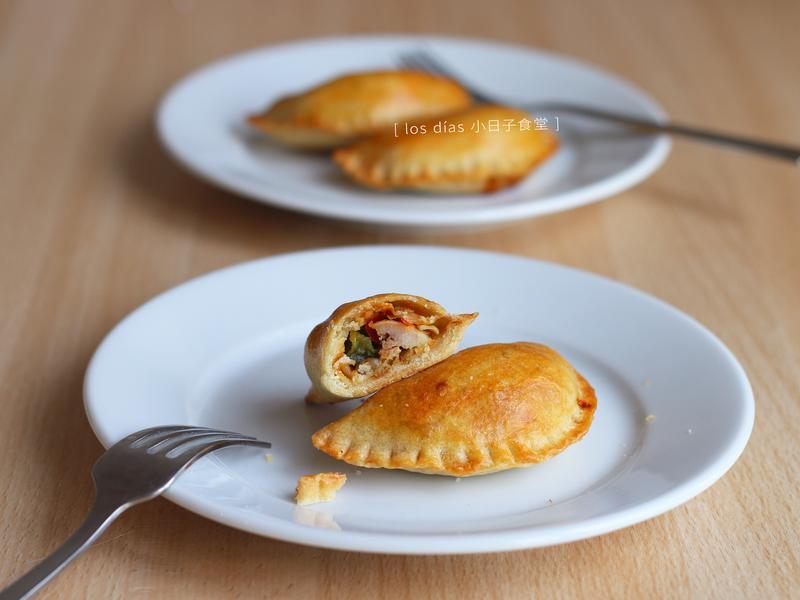 彩椒雞肉起司小酥餅