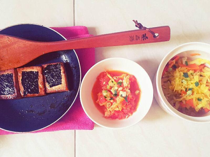 簡單料理~紅燒紫菜豆腐