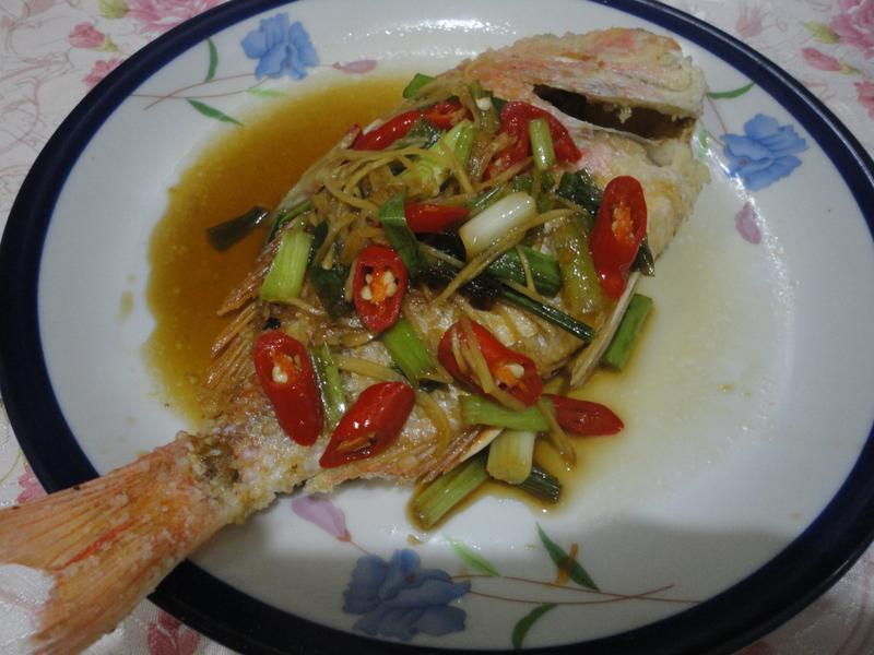 紅燒赤鯧魚(淬釀真心食堂)