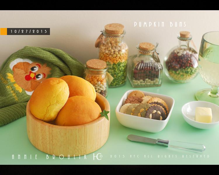 超軟綿香甜南瓜餐包*五分鐘手揉麵團