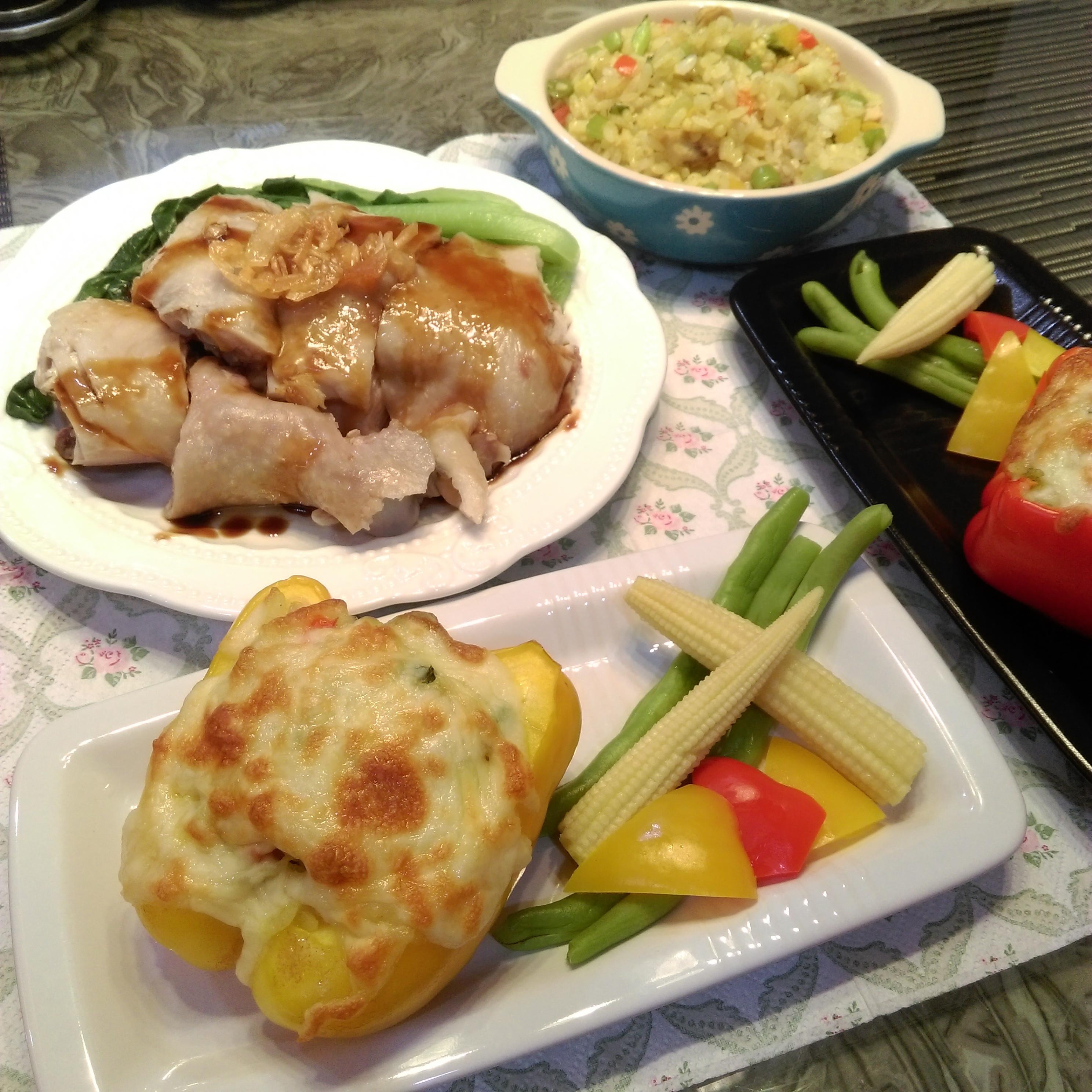 焗烤雞丁咖哩飯【桂丁土雞創意吃】