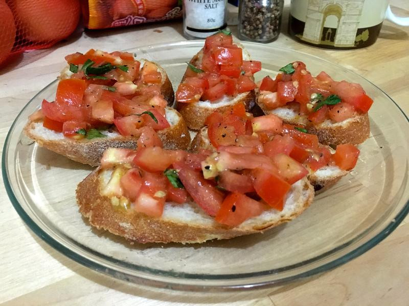 Bruschetta-義大利餐前麵包