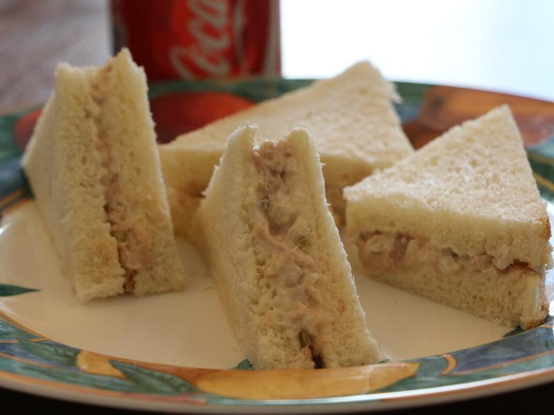 鮪魚沙拉三明治