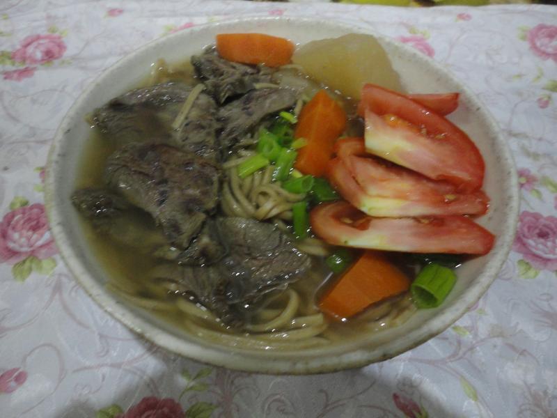 牛肉麵(淬釀真心食堂)