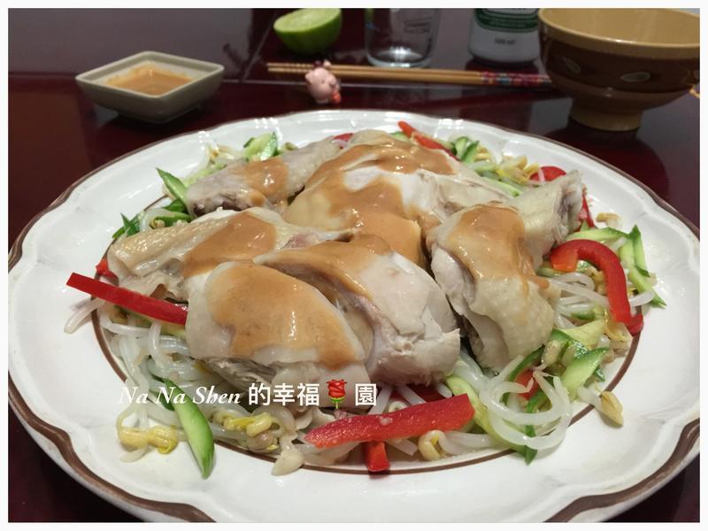 味噌醬汁白斬雞【桂丁土雞創意吃】
