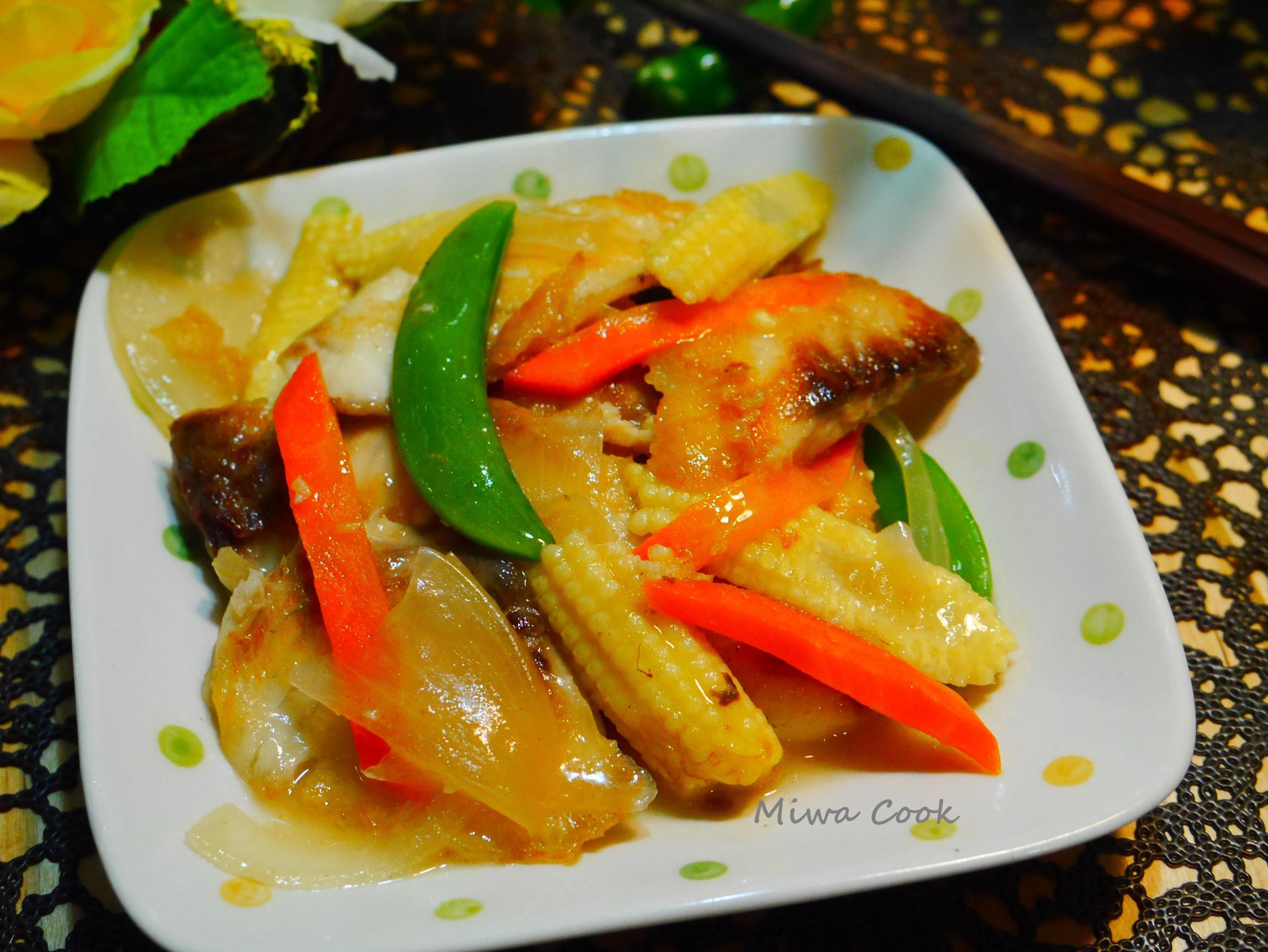 臺灣鯛15分鐘上菜-醋溜魚片