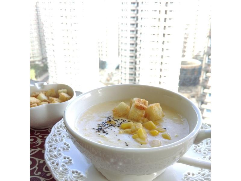 玉米濃湯(調理機版)