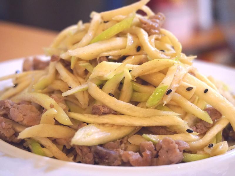 筊白筍炒肉絲《家樂福廚神大賽2015》
