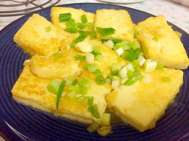 輕鬆上菜~醬燒雞蛋豆腐