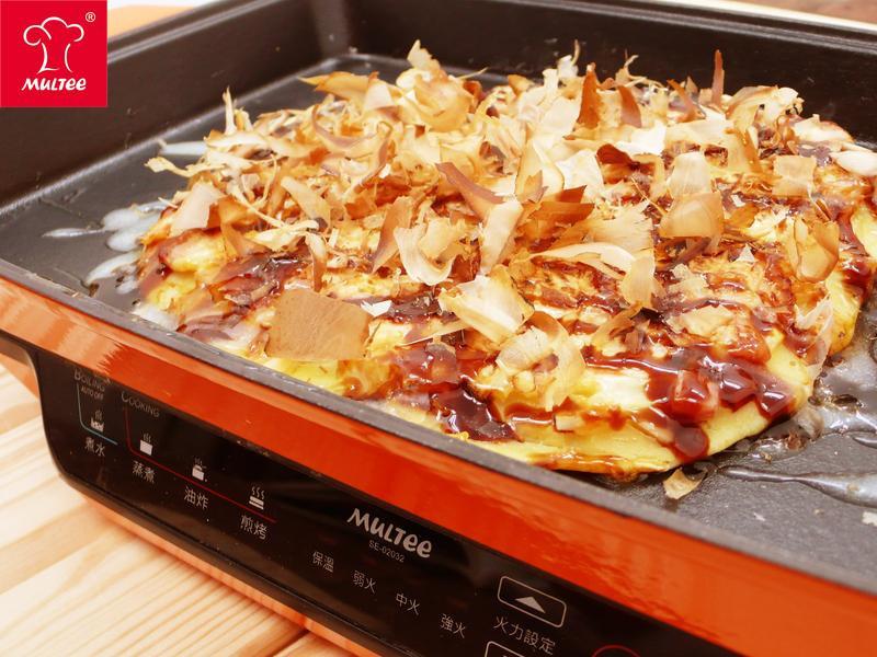 【摩堤_鑄鐵鍋料理】超簡單日式大阪燒