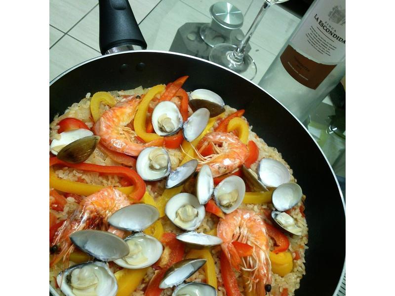 海鮮燉飯(簡易版)