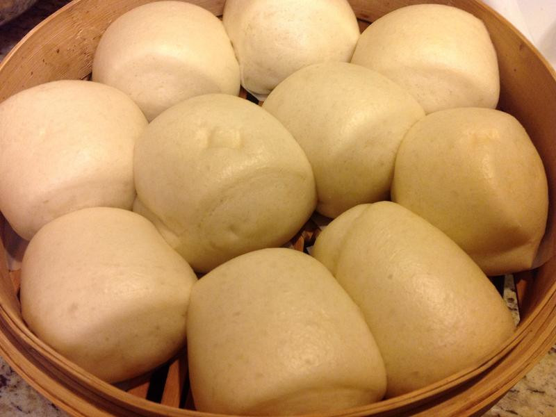Steamed Bread-鮮奶饅頭❤!