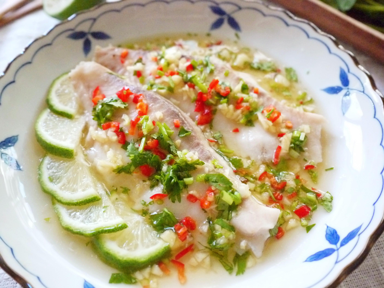 臺灣鯛15分鐘上菜--清蒸檸檬魚