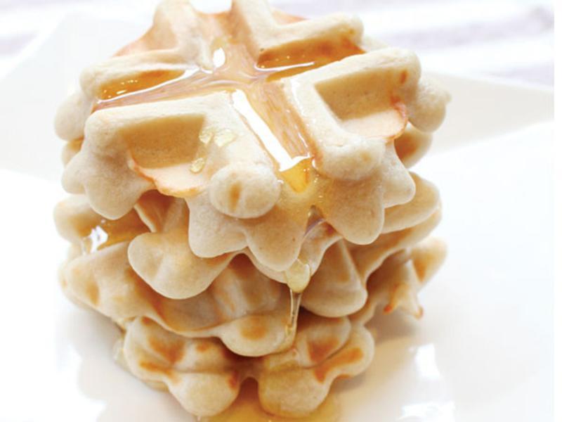 無麩質、無蛋奶,低敏的全素鬆餅