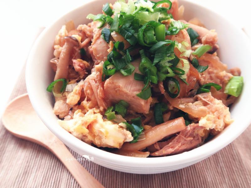 雞肉親子丼 桂丁土雞創意吃