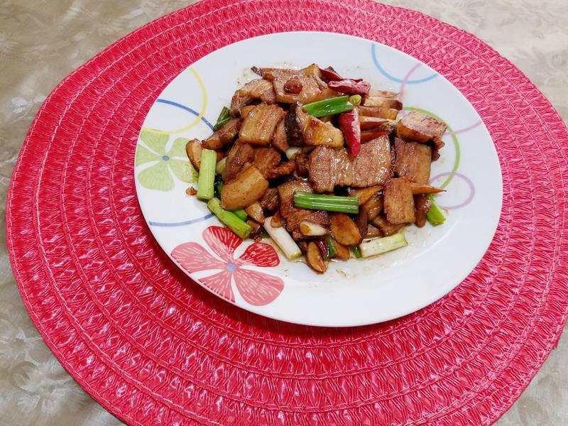 醬香杏鮑菇五花肉