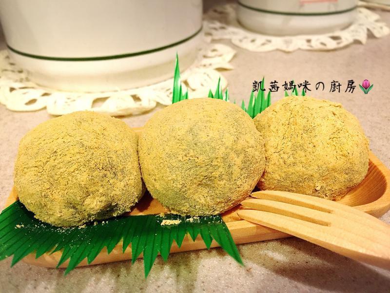 艾草紅豆麻糬🎶【歡慶大同電鍋55週年】