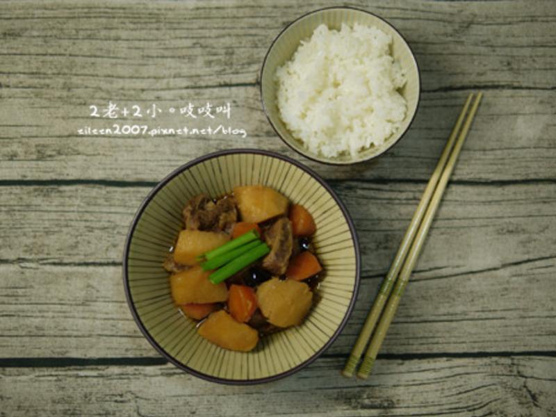 懶人馬鈴薯燉牛肉【歡慶大同電鍋55週年】