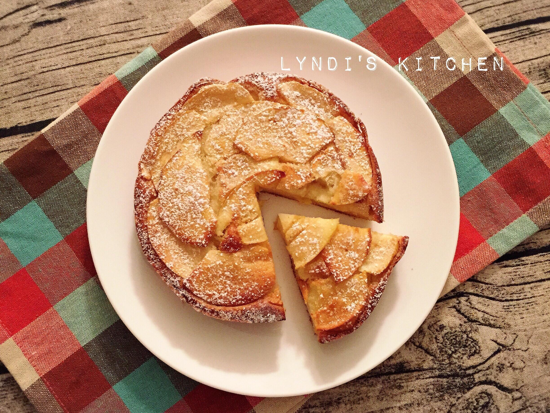無敵簡單蘋果隱形蛋糕