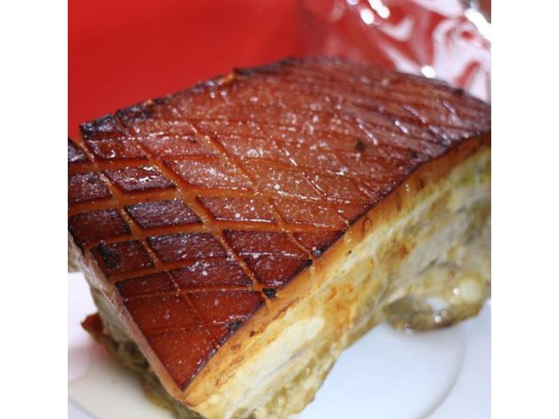 德國脆皮豬肉 (烤箱家庭菜)