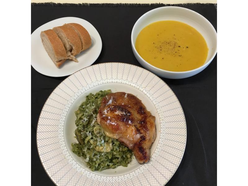 青醬燉飯,蔬菜濃湯家樂福廚神大賽2015