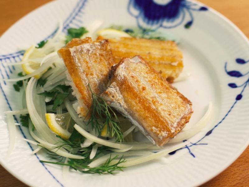 如何煎出漂亮白帶魚+完美挑刺