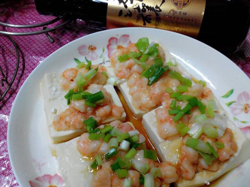 蝦泥豆腐鑲【淬釀真心食堂】
