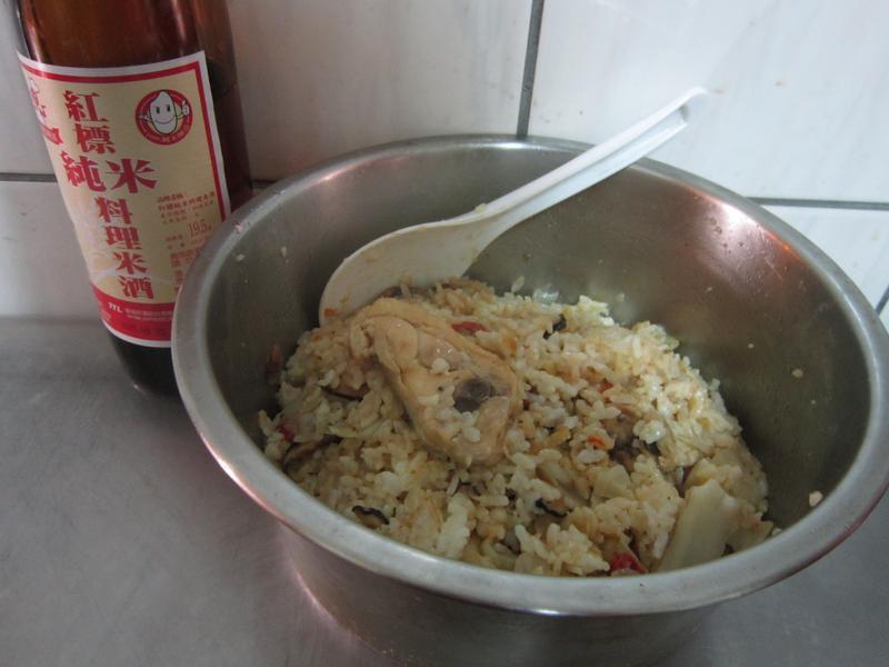 麻油雞菜飯
