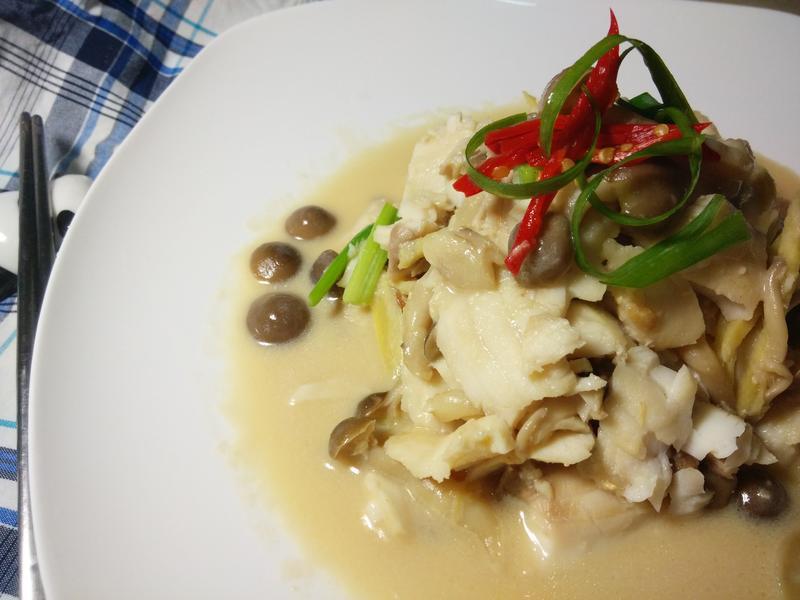 臺灣鯛10分鐘上菜-腐乳炒鴻喜鯛