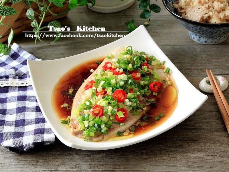 臺灣鯛15分鐘好料理--蔥油鮮魚片