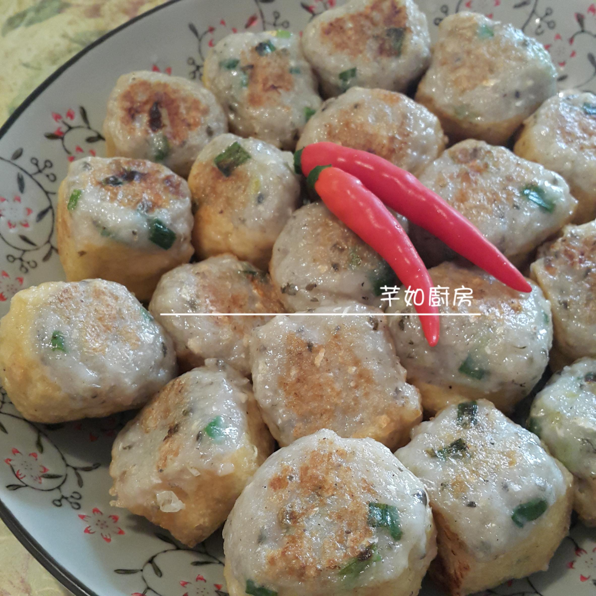港式煎釀豆腐卜