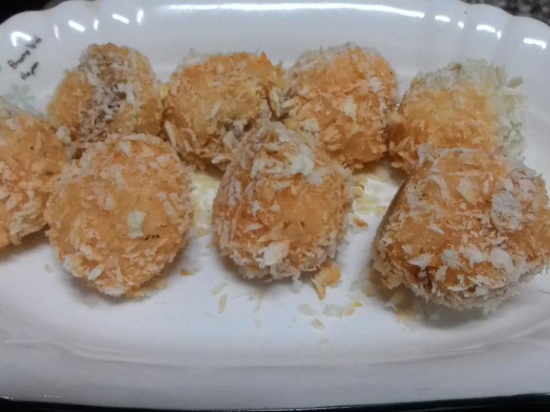 烤飯丸子 小七派對美食